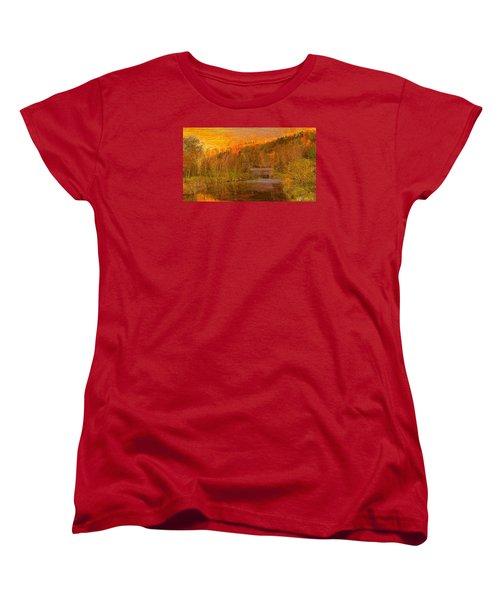 Evening Shadows II Women's T-Shirt (Standard Cut)