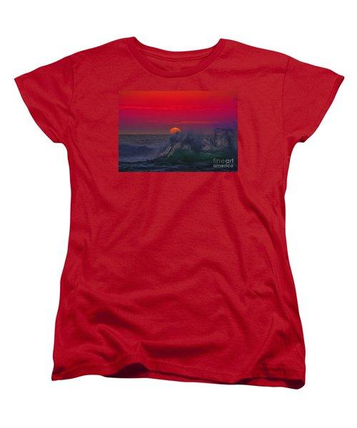 Eventide Women's T-Shirt (Standard Cut) by Billie-Jo Miller