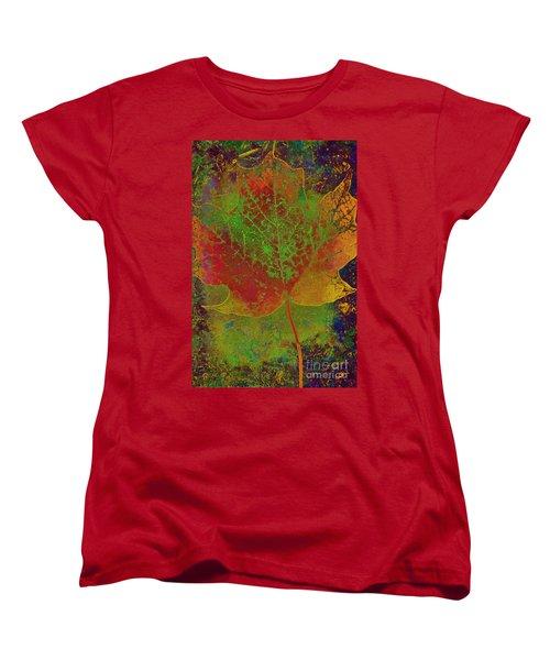 Evolution Of Life Women's T-Shirt (Standard Cut) by Deborah Benoit