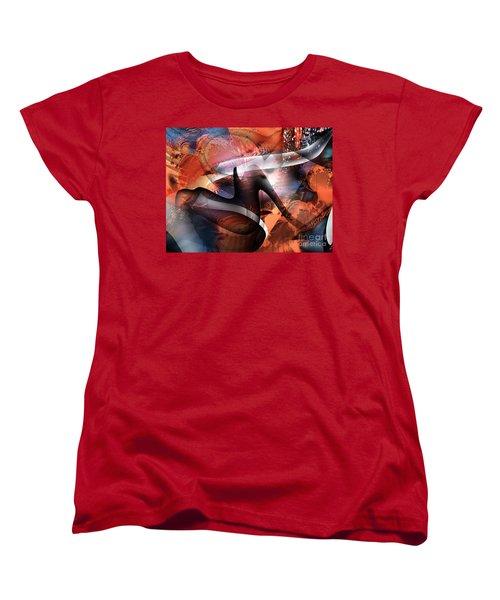 Deliverance Women's T-Shirt (Standard Cut) by Yul Olaivar