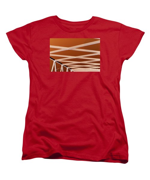 Exes- Red Women's T-Shirt (Standard Cut) by Jamie Lynn