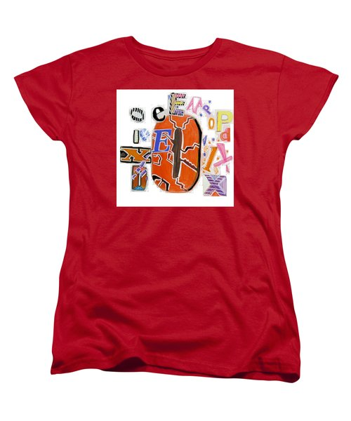 Explode - Tee Shirt Art Women's T-Shirt (Standard Cut) by Mudiama Kammoh