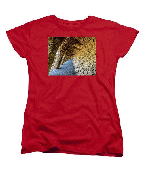 Women's T-Shirt (Standard Cut) featuring the photograph Explorer by Randy Scherkenbach