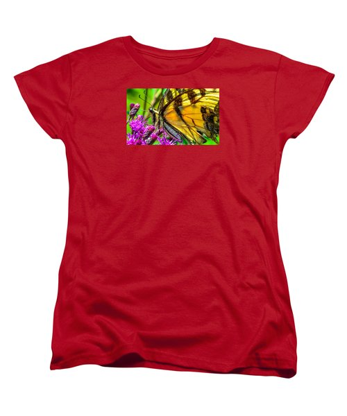 Women's T-Shirt (Standard Cut) featuring the photograph Eye Of The Tiger 3 by Brian Stevens