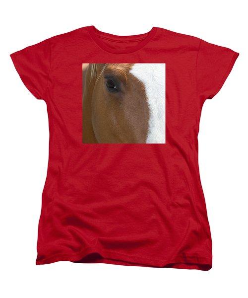 Eye On You Women's T-Shirt (Standard Cut) by Roberta Byram