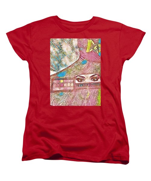 Eyes Women's T-Shirt (Standard Cut) by Jason Lees
