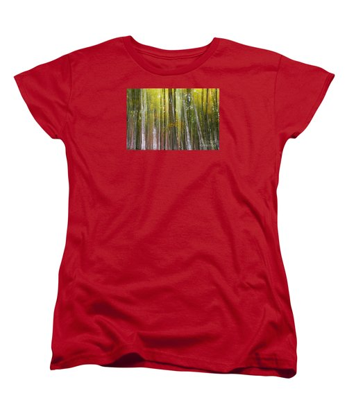Women's T-Shirt (Standard Cut) featuring the photograph Fairy Forest I by Yuri Santin