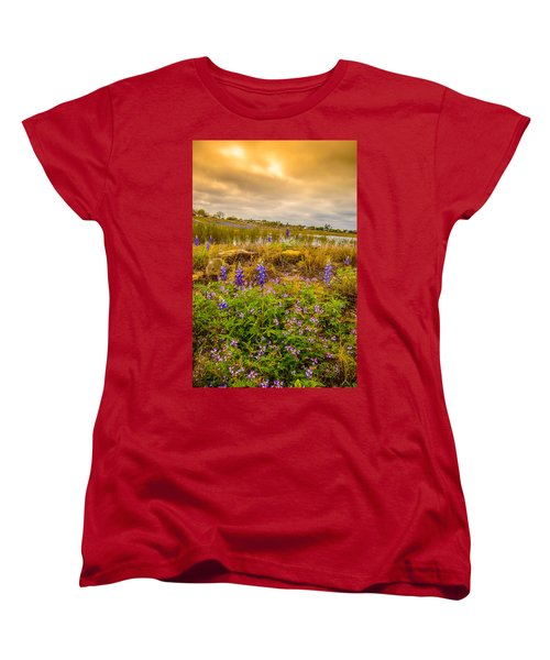 Zapata Falcon Lake 2 Women's T-Shirt (Standard Cut) by Leticia Latocki