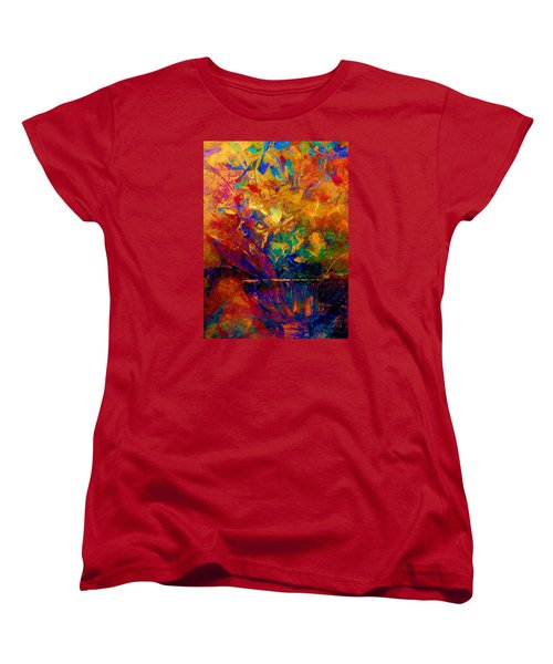 Fall Bouquet  Women's T-Shirt (Standard Cut) by Lisa Kaiser