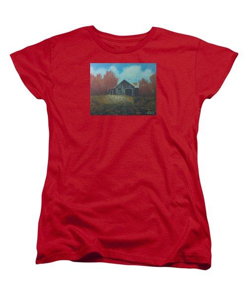 Autumn Barn Women's T-Shirt (Standard Cut)