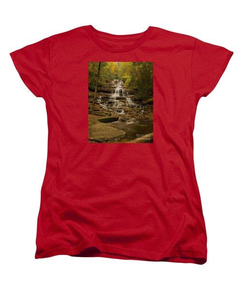 Fall Colors At Minnehaha Falls Women's T-Shirt (Standard Cut)