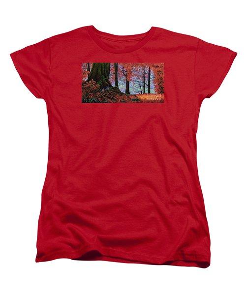Fall Colors II Women's T-Shirt (Standard Cut) by Michael Frank