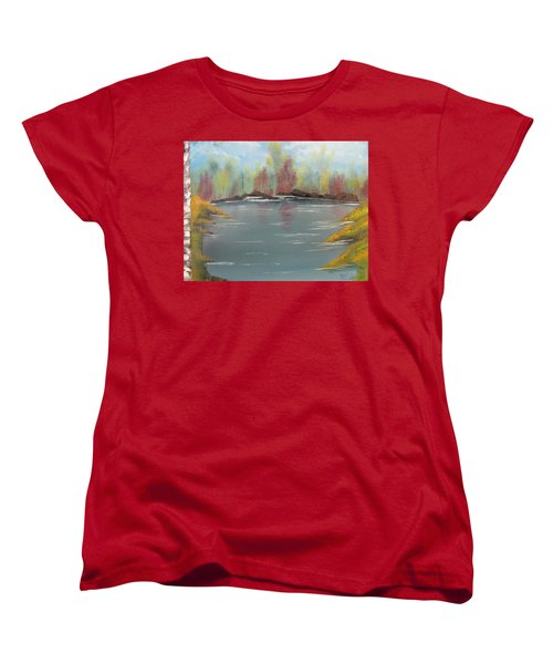 Fall Colors Women's T-Shirt (Standard Cut) by Thomas Janos