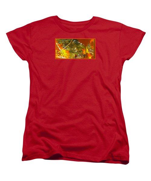 Fall Flyer Women's T-Shirt (Standard Cut) by David Norman