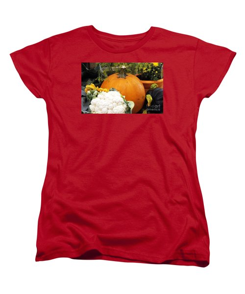 Fall Harvest Women's T-Shirt (Standard Cut) by Judyann Matthews