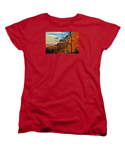 Fall Horizon Women's T-Shirt (Standard Cut)