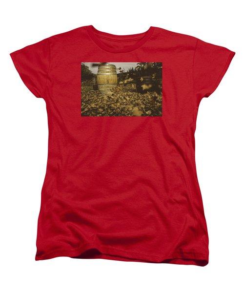 Fall In The Garden Women's T-Shirt (Standard Cut) by Cesare Bargiggia