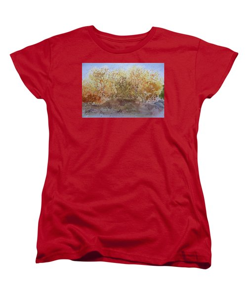 Fall In The Tejas High Country Women's T-Shirt (Standard Cut) by Joel Deutsch