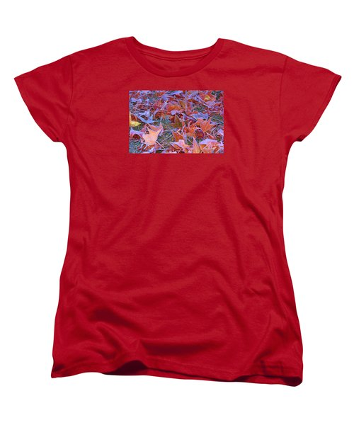 Women's T-Shirt (Standard Cut) featuring the photograph Fall Into Winter by Patrick Witz