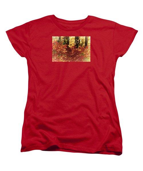 Fall Women's T-Shirt (Standard Cut) by Loni Collins