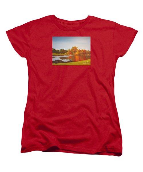 Fall Perfection Women's T-Shirt (Standard Cut) by Elizabeth Carr