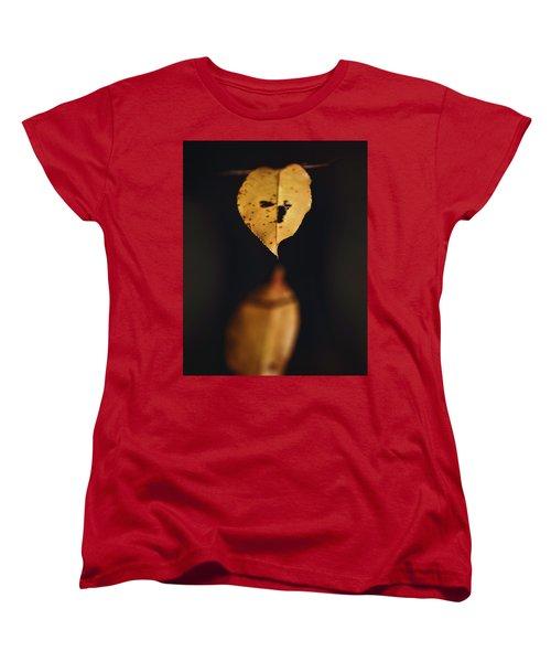 Fall Reflections Women's T-Shirt (Standard Cut) by Eduard Moldoveanu