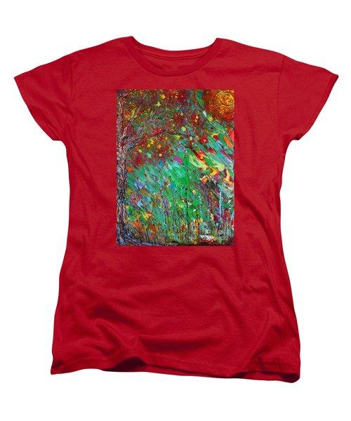 Fall Revival Women's T-Shirt (Standard Cut) by Jacqueline Athmann