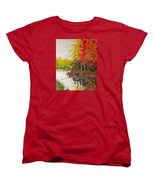 Fall Scene Women's T-Shirt (Standard Cut)