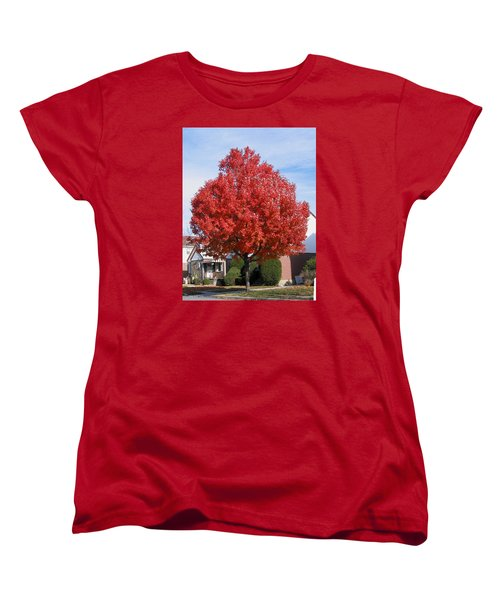 Fall Season Women's T-Shirt (Standard Cut)