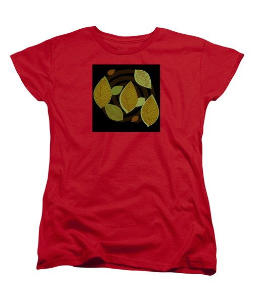 Falling Into Color Women's T-Shirt (Standard Cut)