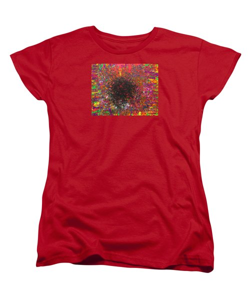 Women's T-Shirt (Standard Cut) featuring the painting Falling by Jacqueline Athmann