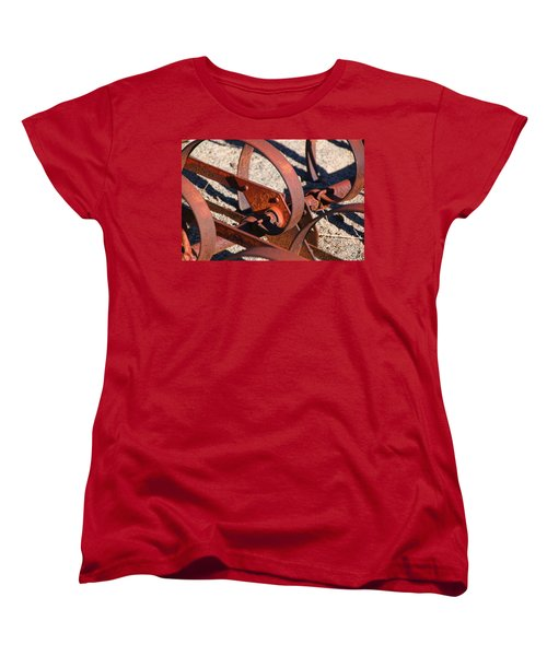 Women's T-Shirt (Standard Cut) featuring the photograph Farm Equipment 4 by Ely Arsha