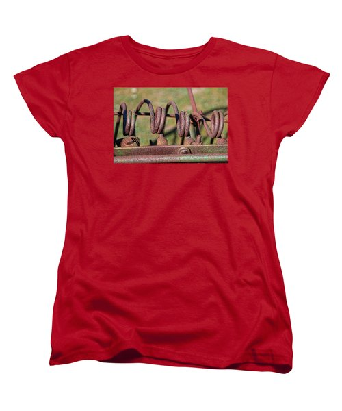 Women's T-Shirt (Standard Cut) featuring the photograph Farm Equipment 7 by Ely Arsha