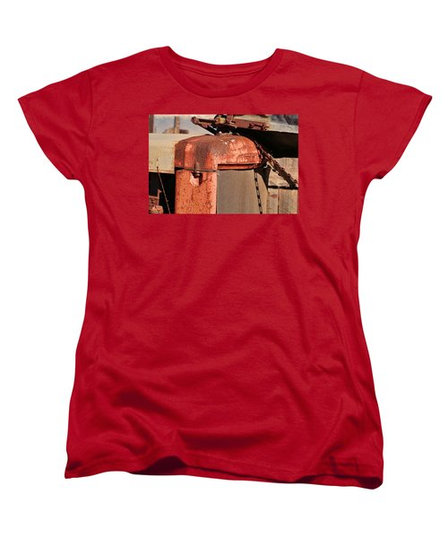 Women's T-Shirt (Standard Cut) featuring the photograph Farm Equipment 8 by Ely Arsha