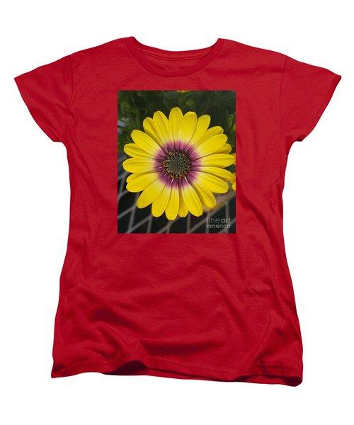 Fascinating Yellow Flower Women's T-Shirt (Standard Cut) by Jasna Gopic
