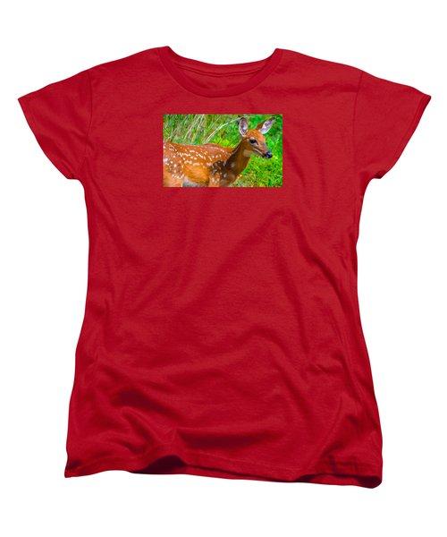 Fawn 4 Women's T-Shirt (Standard Cut) by Brian Stevens