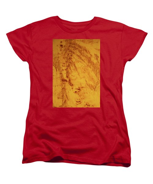Feathers On The Wind Women's T-Shirt (Standard Cut) by Cynthia Powell