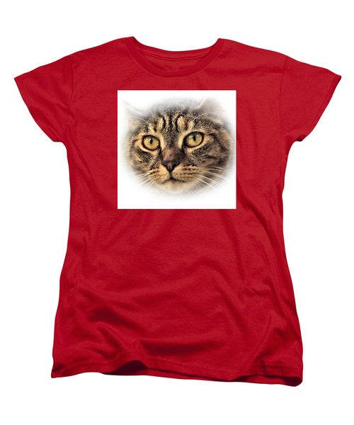 Women's T-Shirt (Standard Cut) featuring the photograph Feline by Debbie Stahre