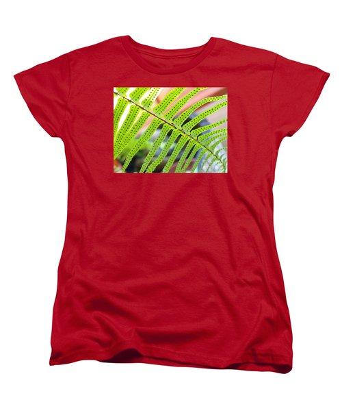 Women's T-Shirt (Standard Cut) featuring the photograph Fern by Trena Mara