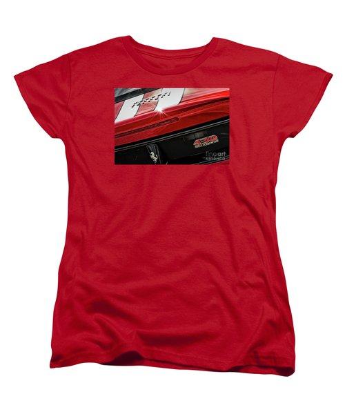 Women's T-Shirt (Standard Cut) featuring the photograph Ferrari 430 Scuderia by Brad Allen Fine Art
