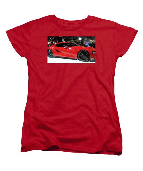 Red Ferrari Women's T-Shirt (Standard Cut)
