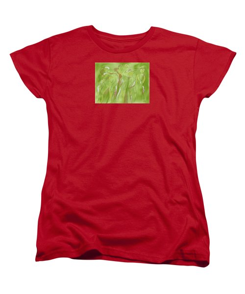 Few Figures Women's T-Shirt (Standard Cut) by Mary Armstrong