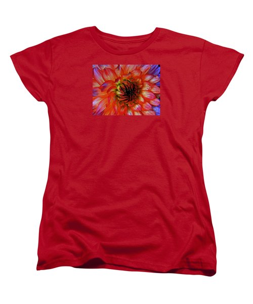 Women's T-Shirt (Standard Cut) featuring the photograph Fickle by Elfriede Fulda
