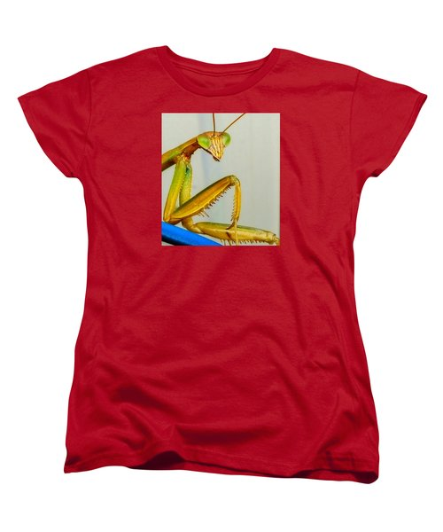 Women's T-Shirt (Standard Cut) featuring the photograph Fierce Lady by Bruce Carpenter