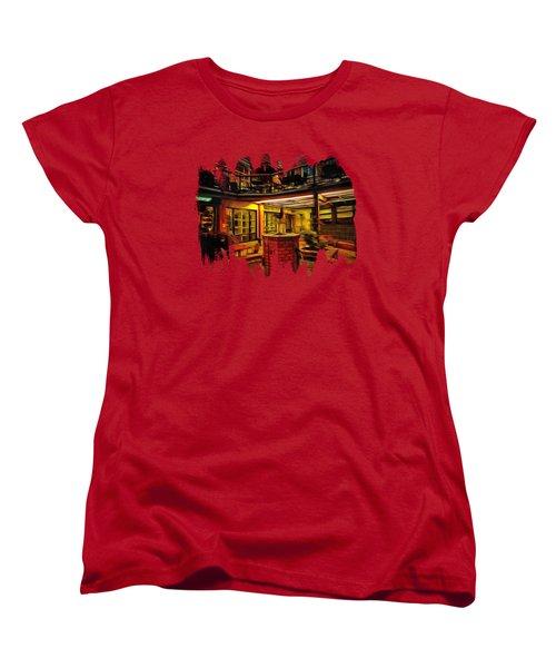 Fifth Street Public Market Women's T-Shirt (Standard Cut) by Thom Zehrfeld