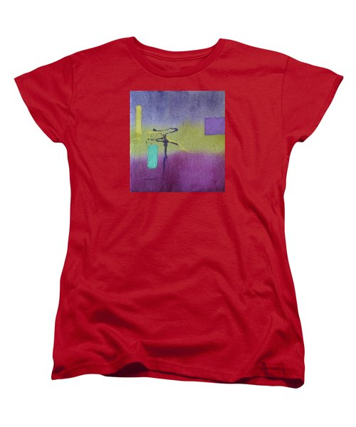 Finding Balance Women's T-Shirt (Standard Cut) by Becky Chappell