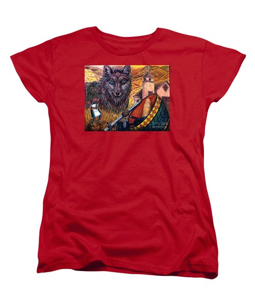 Finding Ones' Way Women's T-Shirt (Standard Cut) by Kim Jones