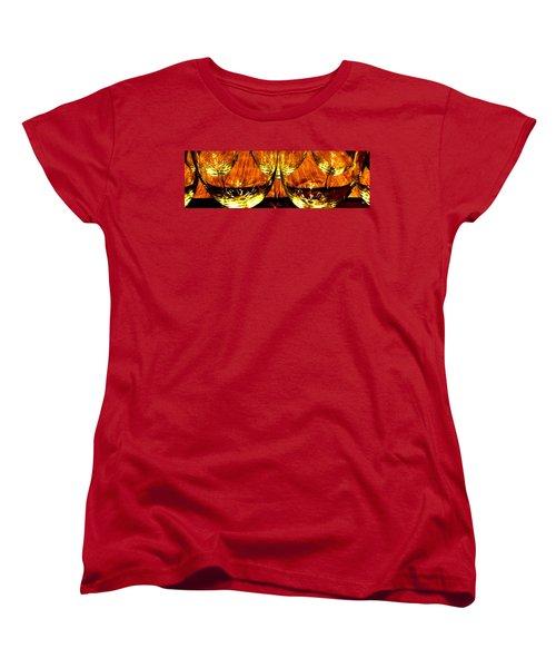 Fine Wine And Dine 3 Women's T-Shirt (Standard Cut)