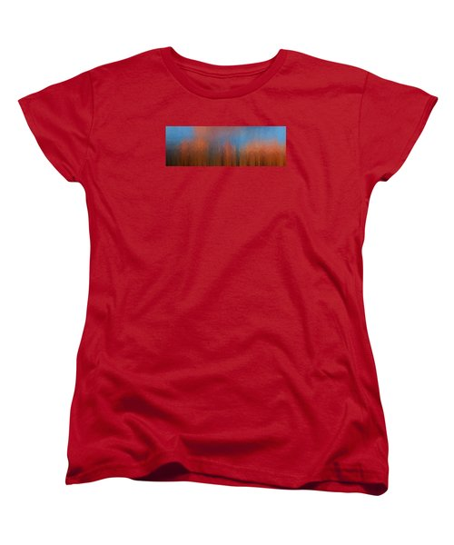 Women's T-Shirt (Standard Cut) featuring the photograph Fire And Ice by Ken Smith