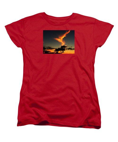 Early Evening Over Paros Island Women's T-Shirt (Standard Cut) by Colette V Hera  Guggenheim